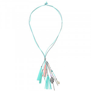 necklace summer tassels