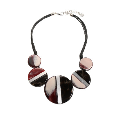 Necklace Artistic Circles