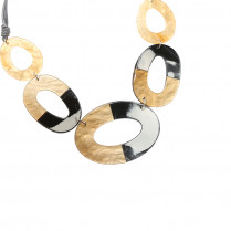Necklace Graphic Circles