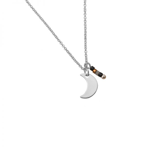 Collier Stone Moon