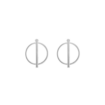 Earrings Geo Circle