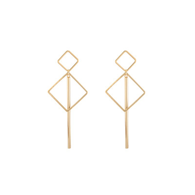 Earrings Geo Square