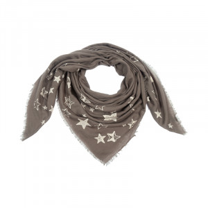 Scarf Painted Stars
