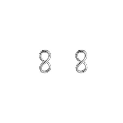 Earrings Infinity Stud