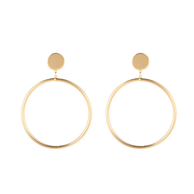 Earrings Round & Little Circle