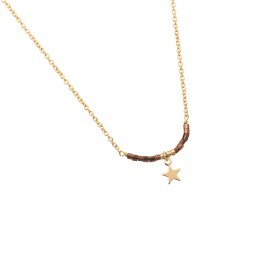 Necklace Little Star & Stones