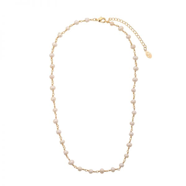 Necklace Chain of Pearls