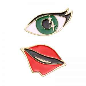Pins Sparkle Eye