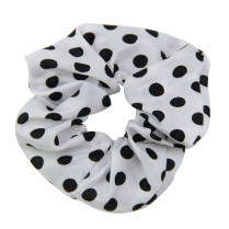 Hairtie White & Black Dots