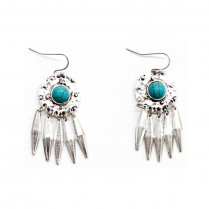 Earrings Vintage Turquoise