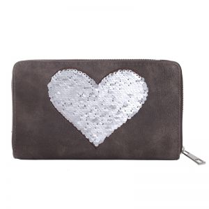 Wallet Sweet Sequins Heart