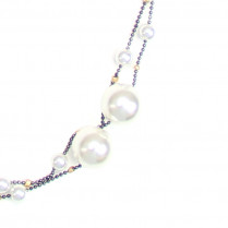 Necklace Pearl Party