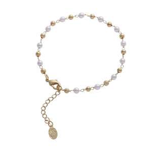 Armband Golden Pearl