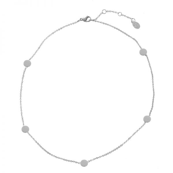 Necklace Circle Points