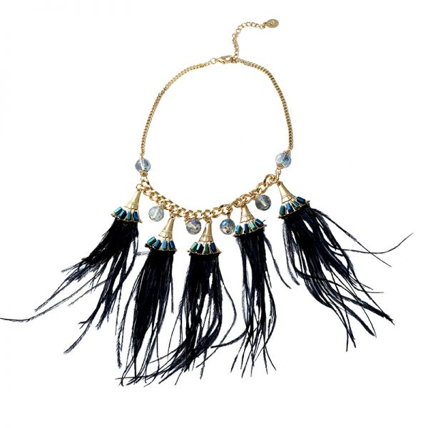 Collier feathers to fly