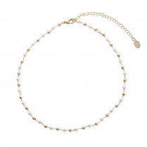 Necklace Golden Pearl