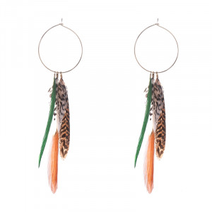 Oorbellen Fall Feathers
