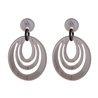 Earrings Statement Rounds
