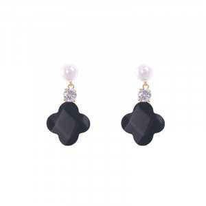 Earrings Clover Drops
