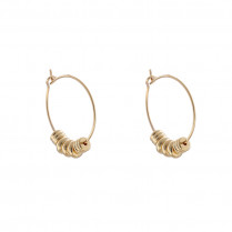 Earrings Funky Creoles -big-