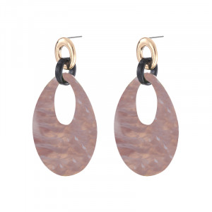 Earrings Statement Ovals