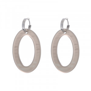 Earrings Statement Small Ovals