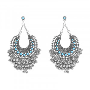 Earrings Turquoise Fantasy