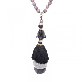 Necklace Tassel Buddha Head