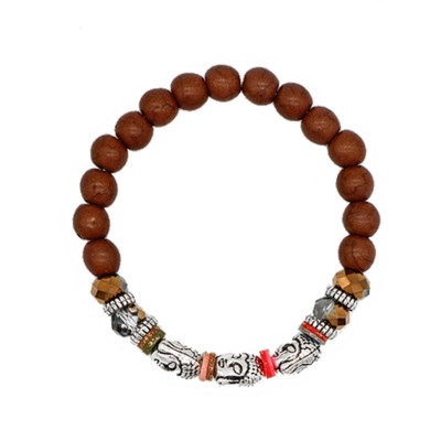 Bracelet Buddha Faces