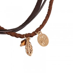 Armband Charming Feather