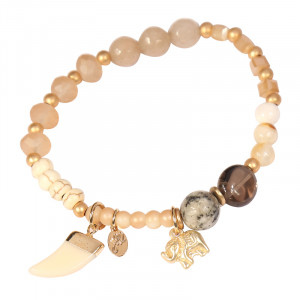 Armband Fall Stones and Elephant