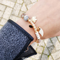 Bracelet Fall Stones and Elephant