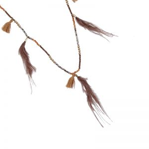 Necklace Stylish Feathers