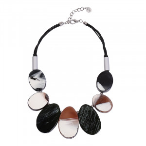 Necklace Arty Ovals