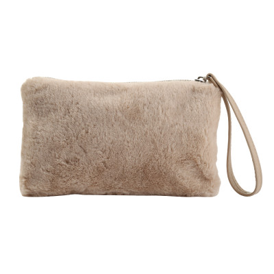 Make-up Tasche Pretty Fake Fur