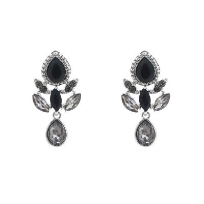 Earrings Glam Leaf
