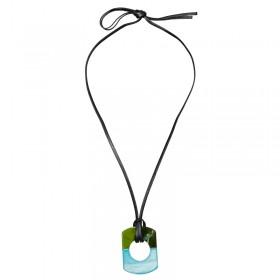 Necklace Aqua Amulet