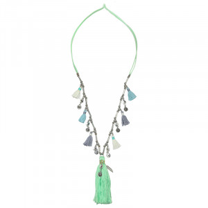 Necklace Big Tassels & Coins