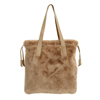 Tas Lovely Fake Fur Shopper