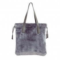 Bag Lovely Fake Fur Shopper