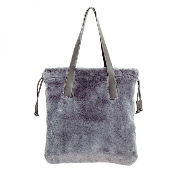Sac Lovely Fake Fur Shopper