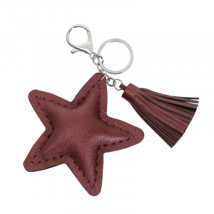 Keychain Star and Tassel