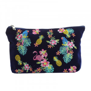 Make-up Tasche Winter Jungle
