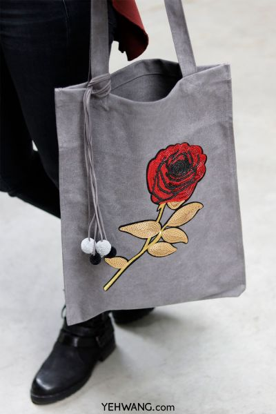 Bag Sparkles & Rose
