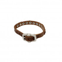 Bracelet Leather Pieces and Studs