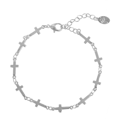 Bracelet Full of Crosses