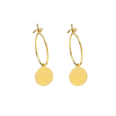Earrings Stylish Circle