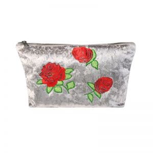Make-up tas velvet rose