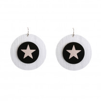 Earrings Artistic Star