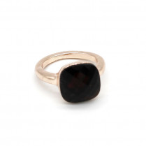 Ring Square -red- size 16-